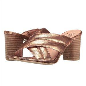 AMUSE SOCIETY X MATISSE Shine On Sandal ROSE GOLD